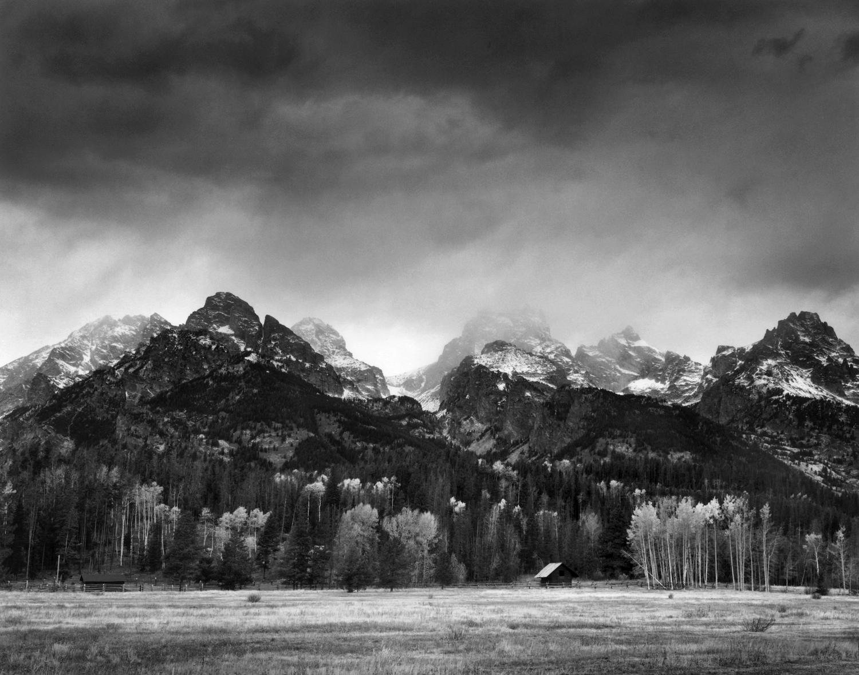 Cabin, Grand Tetons, Wyoming
