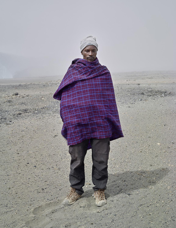 """Godlisten Kessy, Kilimanjaro, 50""""x38"""" 2016"""