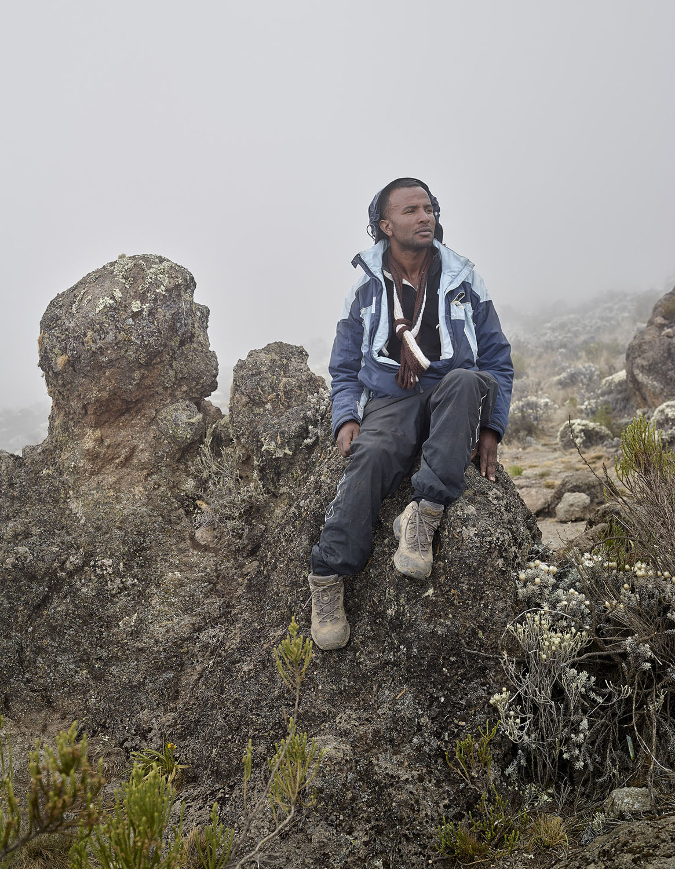 "Pasco Safari, Kilimanjaro. 50""x38"" 2016"