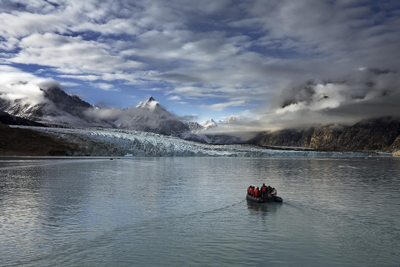 Rasmussen Glacier, East Greenland - Melting Away