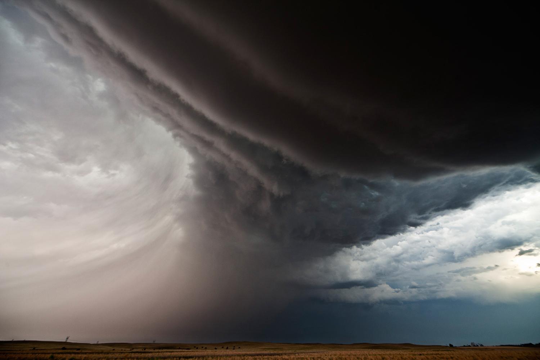 Inflow Bands 19:55CST Chappell NE - The Big Cloud