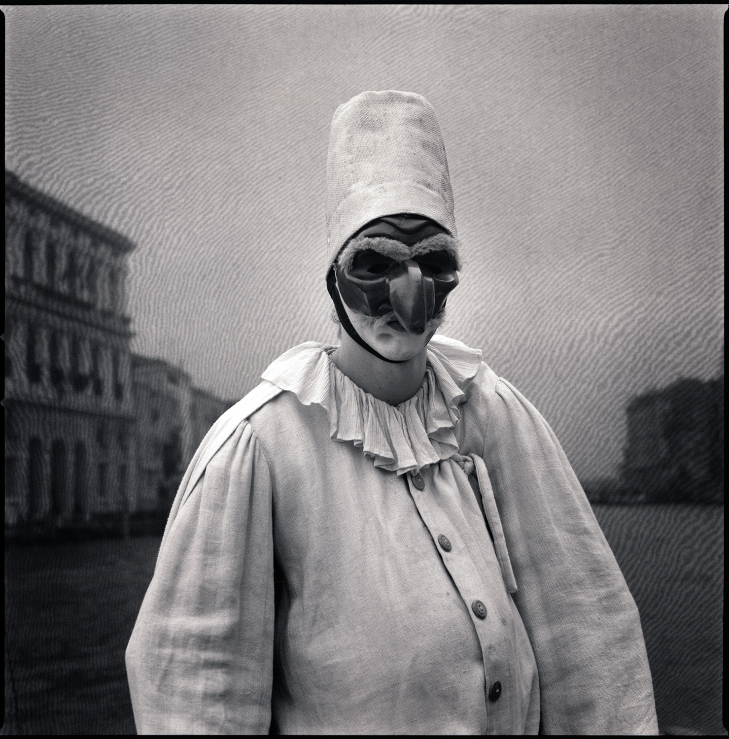 Marco Andreatta as Pulcinella, from the series Comedy of Double Meaning