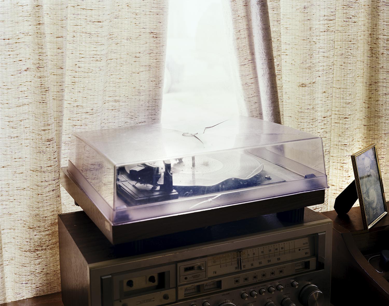 Tom McCarroll's Record Player. Lenoir City, TN. 2015.