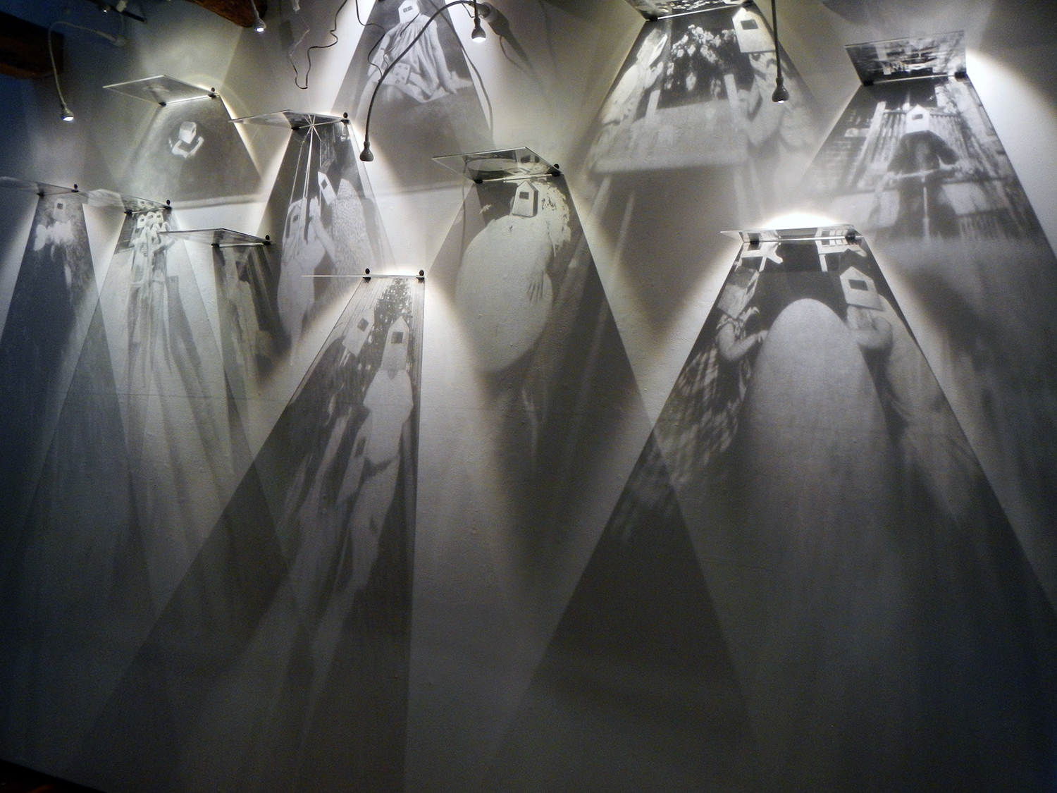 Shadows of Forgotten Ancestors Installation - Ortho Litho Transparencies, 2015