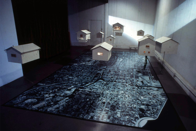 Omphalos Installation, 1989