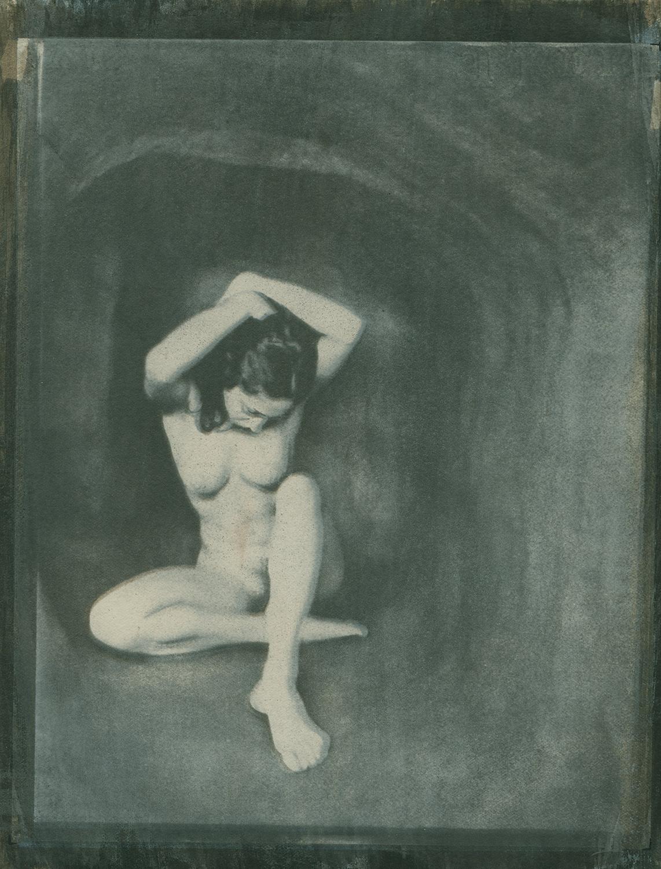 Cave - Gum Dichromate Print, 1966