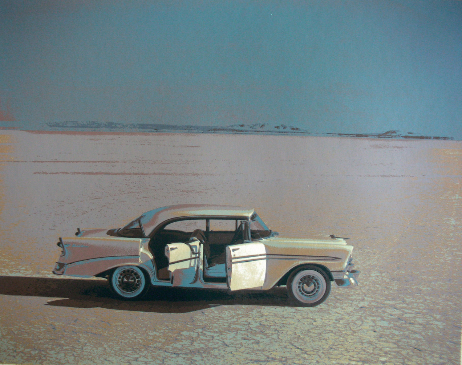 Chevy - Silkscreen, 1975