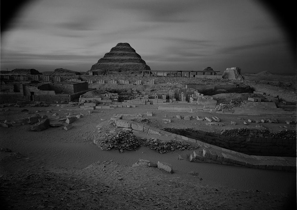 Egypt by 4×5 camera, 1979