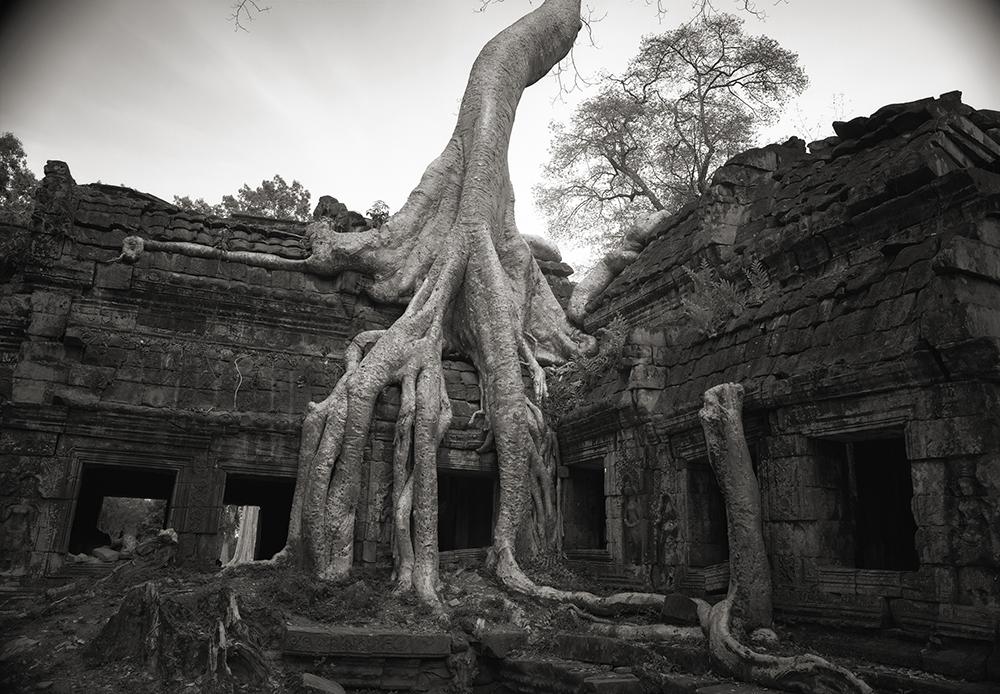 Cambodia Temple, 1993