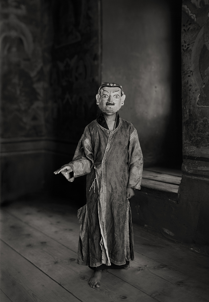 Bhutan Mask Dancer, 2005