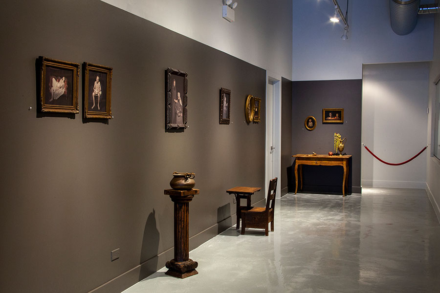 Dramatis Personae  on view at the Catherine Edelman Gallery, Chicago