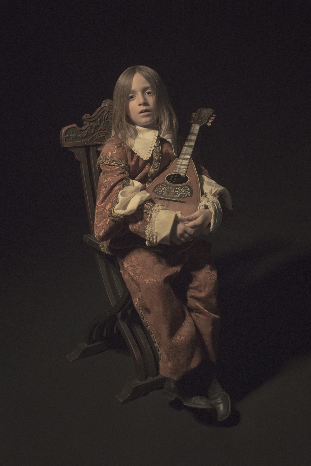 The Young, Minstrel, from the  Dramatis Personae  collection