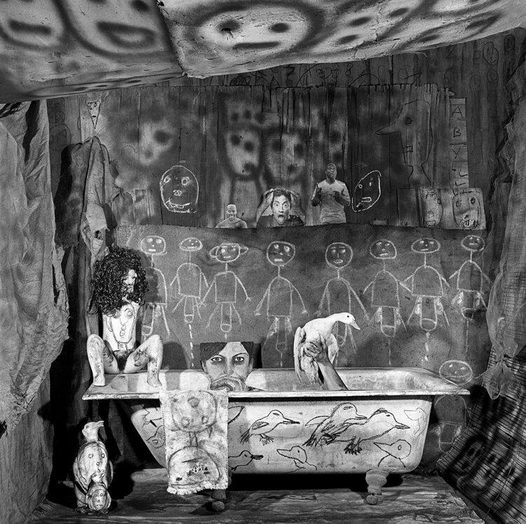 Ritual, 2011, from 'Asylum of the Birds'