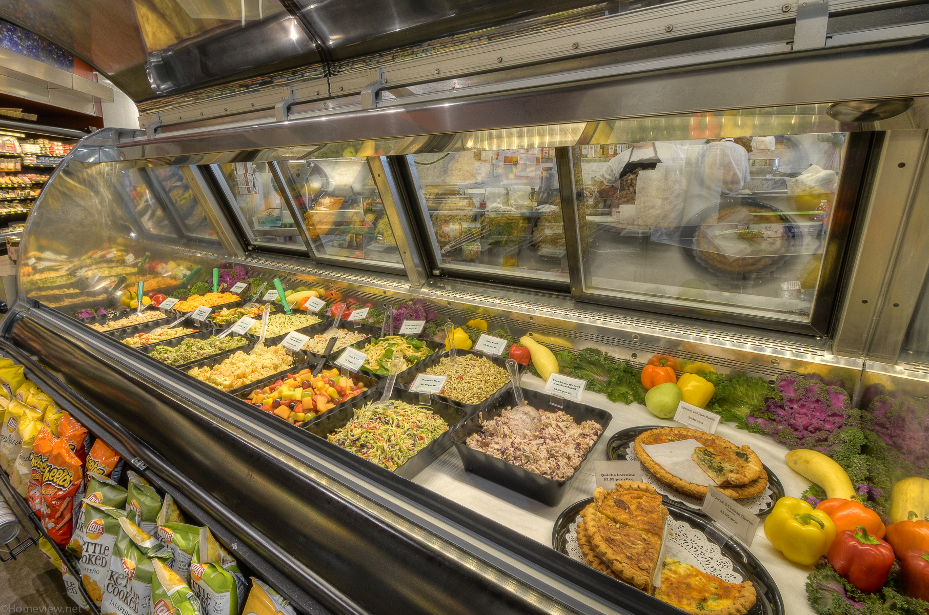 Cold Deli Salads at Bayside Fresh Market