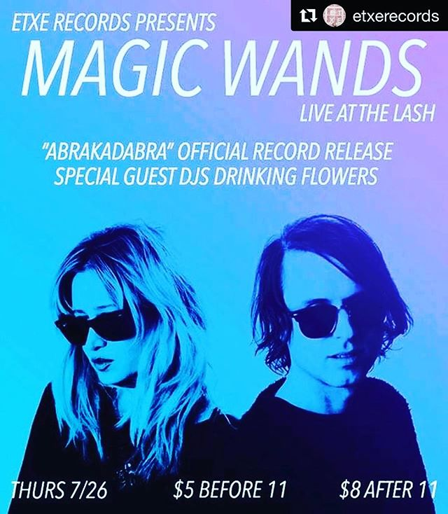 #Repost @etxerecords ・・・ #LosAngeles!  The @magic_wands LP release show is tomorrow night at @thelashsocial . It's gonna get ethereal... Come experience great live music, have a good time, and buy some #vinyl