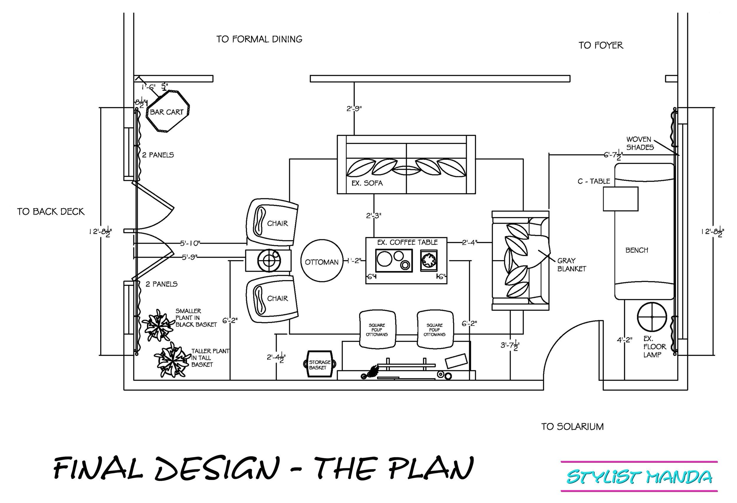 final design the plan example