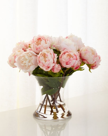 floral arrangement by John-Richard Collection from Horchow - you get what you pay for when it comes to faux floral arrangements