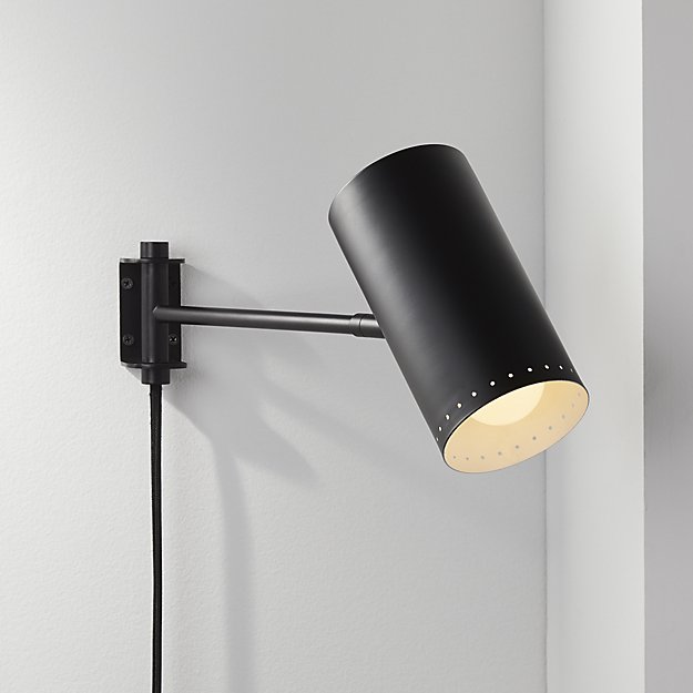 Plug-in Wall Sconce from CB2
