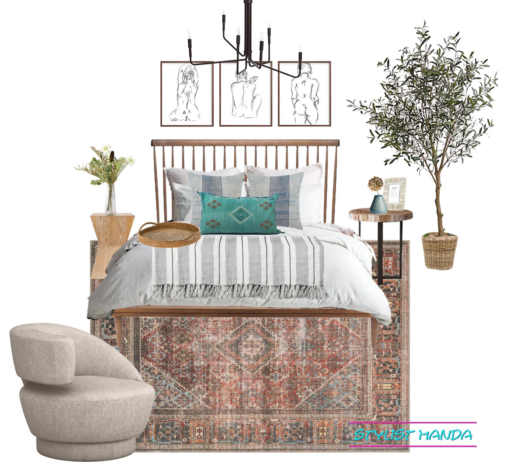 Bedroom Design California Casual vibe room setup.jpg