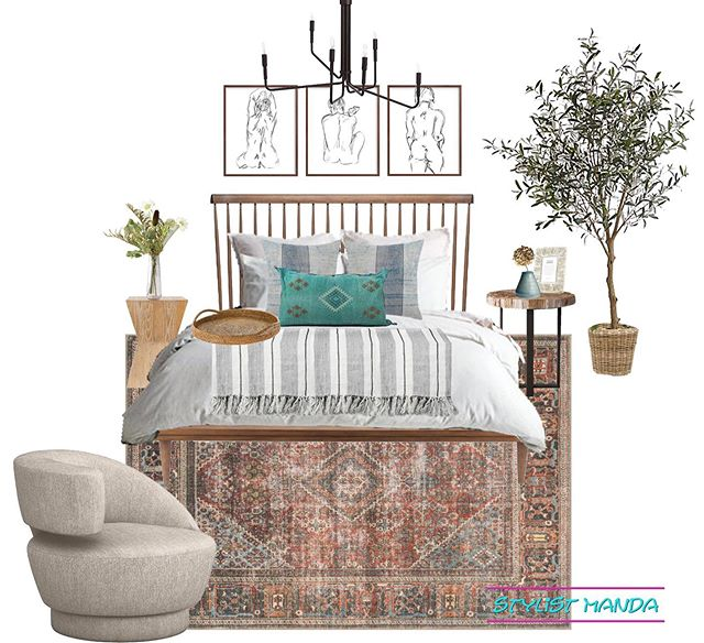 A shoppable mini design I'm calling California Casual Bedroom 1. Creative, right?! Ha! At least I'm better at designing than I am at naming projects 🙈 Anyway, this design is 100% shoppable with all the links on my site (link in bio) ... and if you like it, but want to launch your own project with me, I'm offering 50% off all packages for my Memorial Day sale!! First ever sale, figured I'd go BIG. Enter code SALEDAY at checkout #edesign . . Think I'll be poolside Monday. Might even play some corn hole and grill out ☀️🌴 #iloveflorida ... What are you guys doing this holiday weekend?? Tell me below 👇🏻