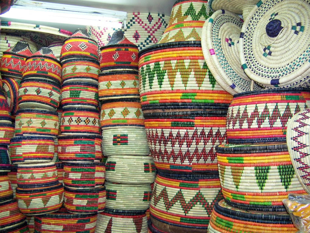 HANDMADE BASKETS -
