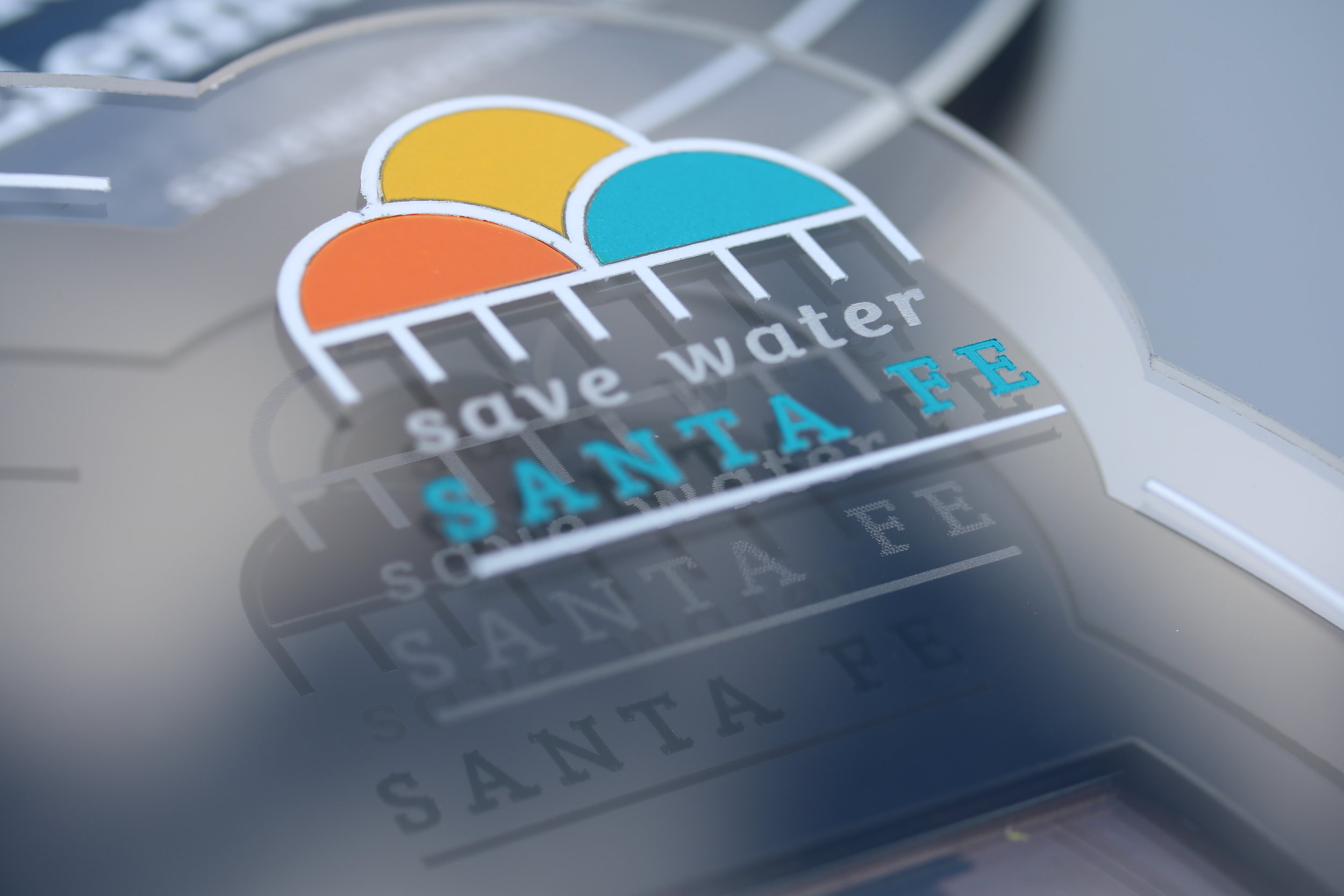 Save Water Santa Fe - Santa Fe Public School Recognition Plaque  Contact us for pricing information.