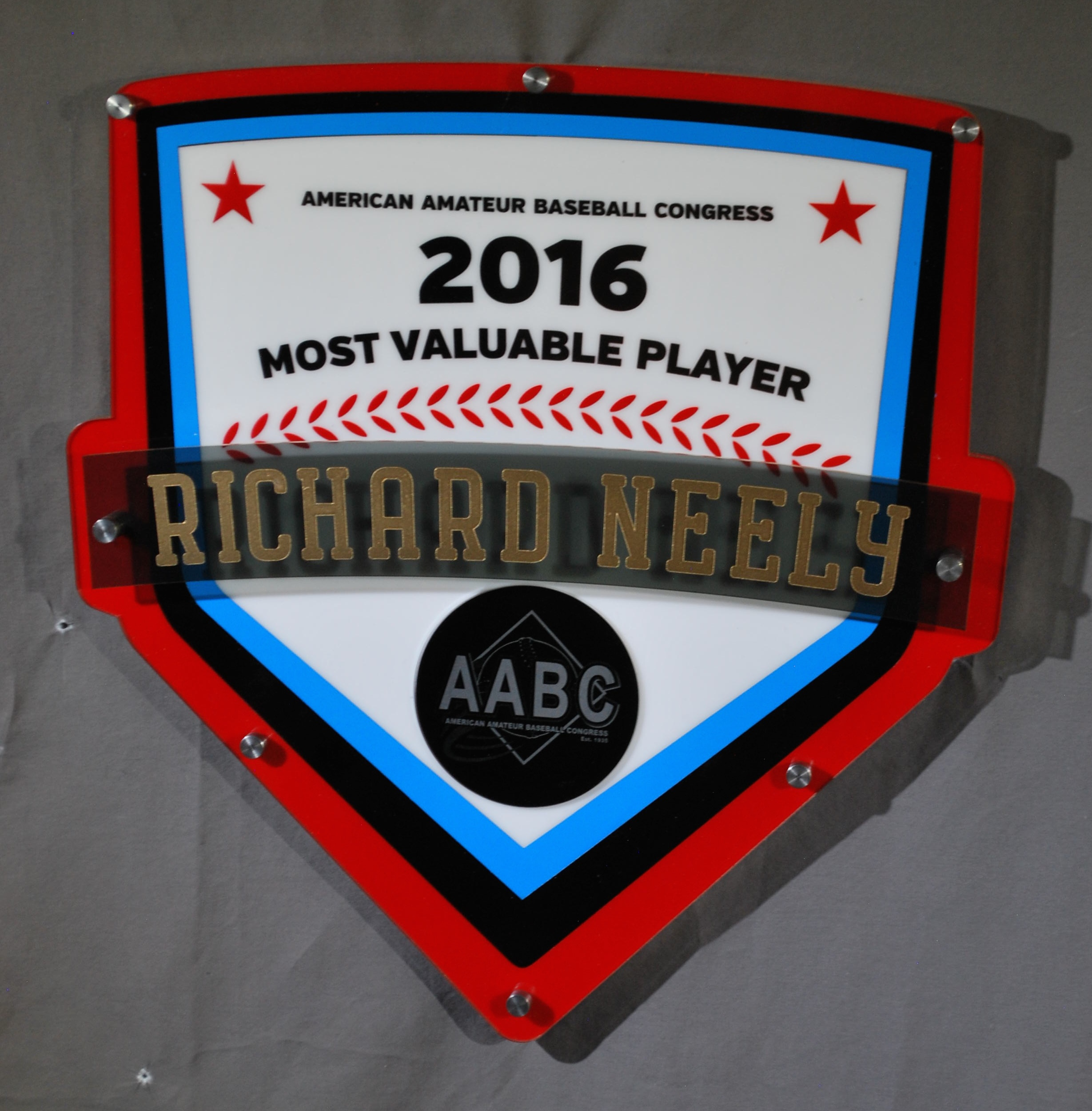 AABC - Tournament/Season MVP Award  Contact us for  pricing information.
