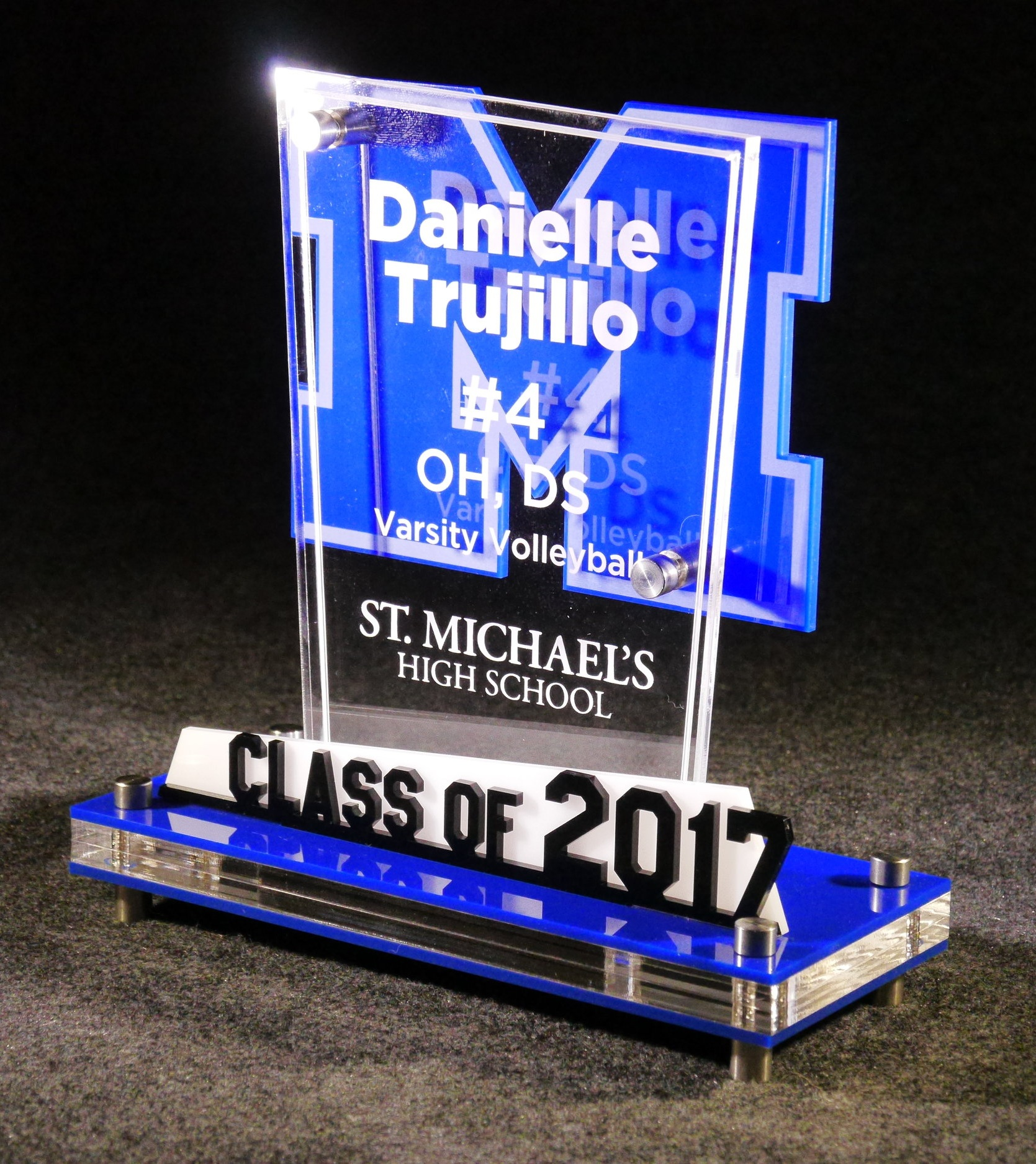 SMHS - Graduating Senior Athlete Award  Contact us for pricing information.