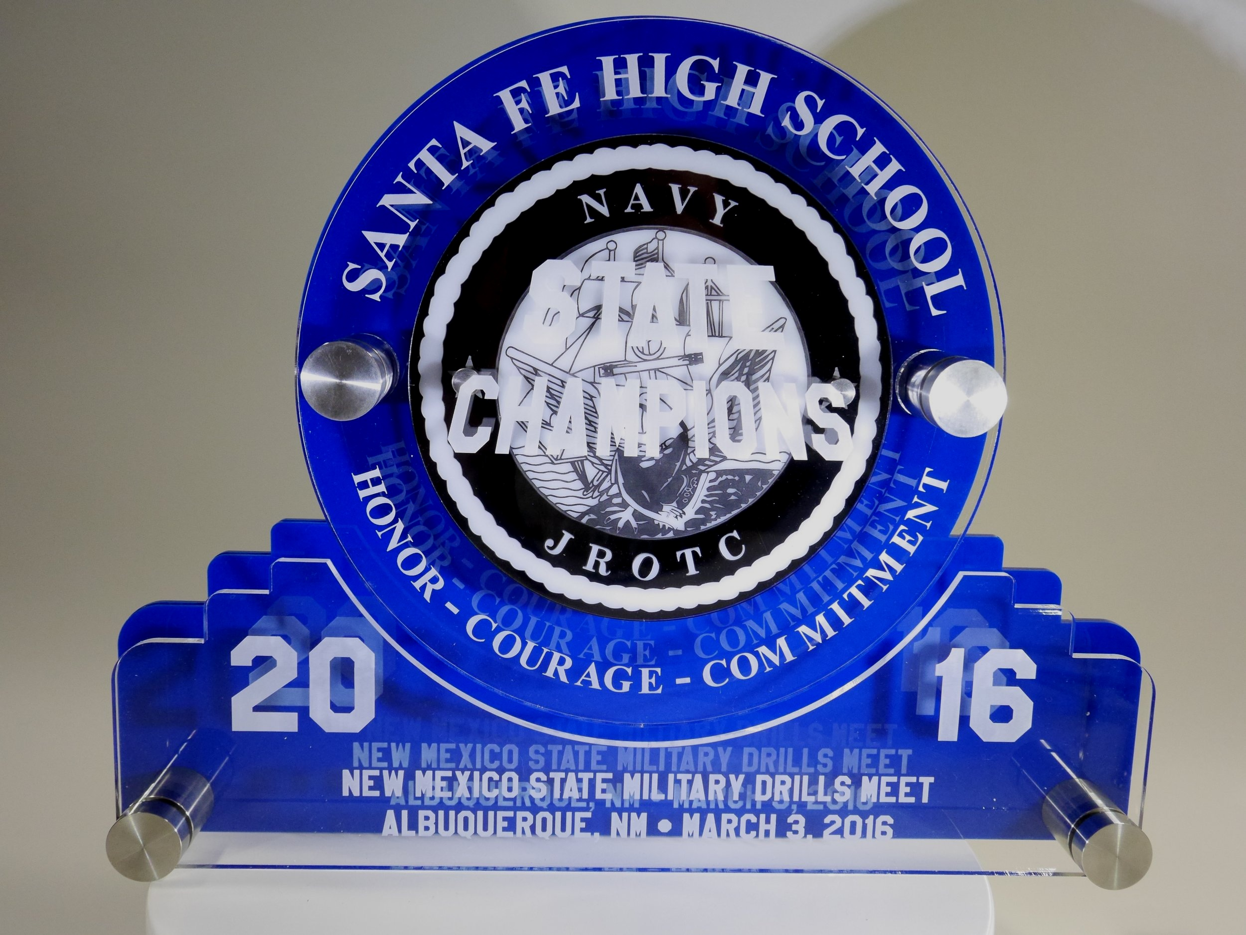 ROTC - State Champion Award  Contact us for pricing information.