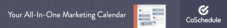 CoSchedule es mi herramienta de marketing preferida, mi número 1. Aquí programo casi todas mis publicaciones, échale un vistazo :)