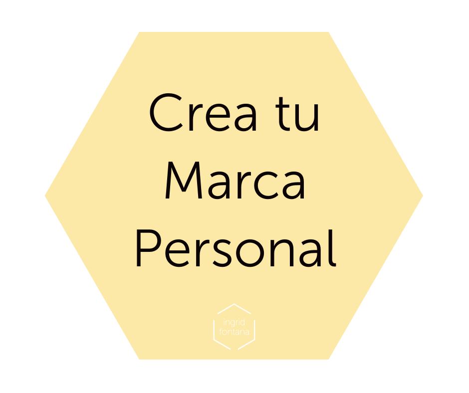 Crea tu Marca Personal con Ingrid Fontana, de Gestión digital de Pymes