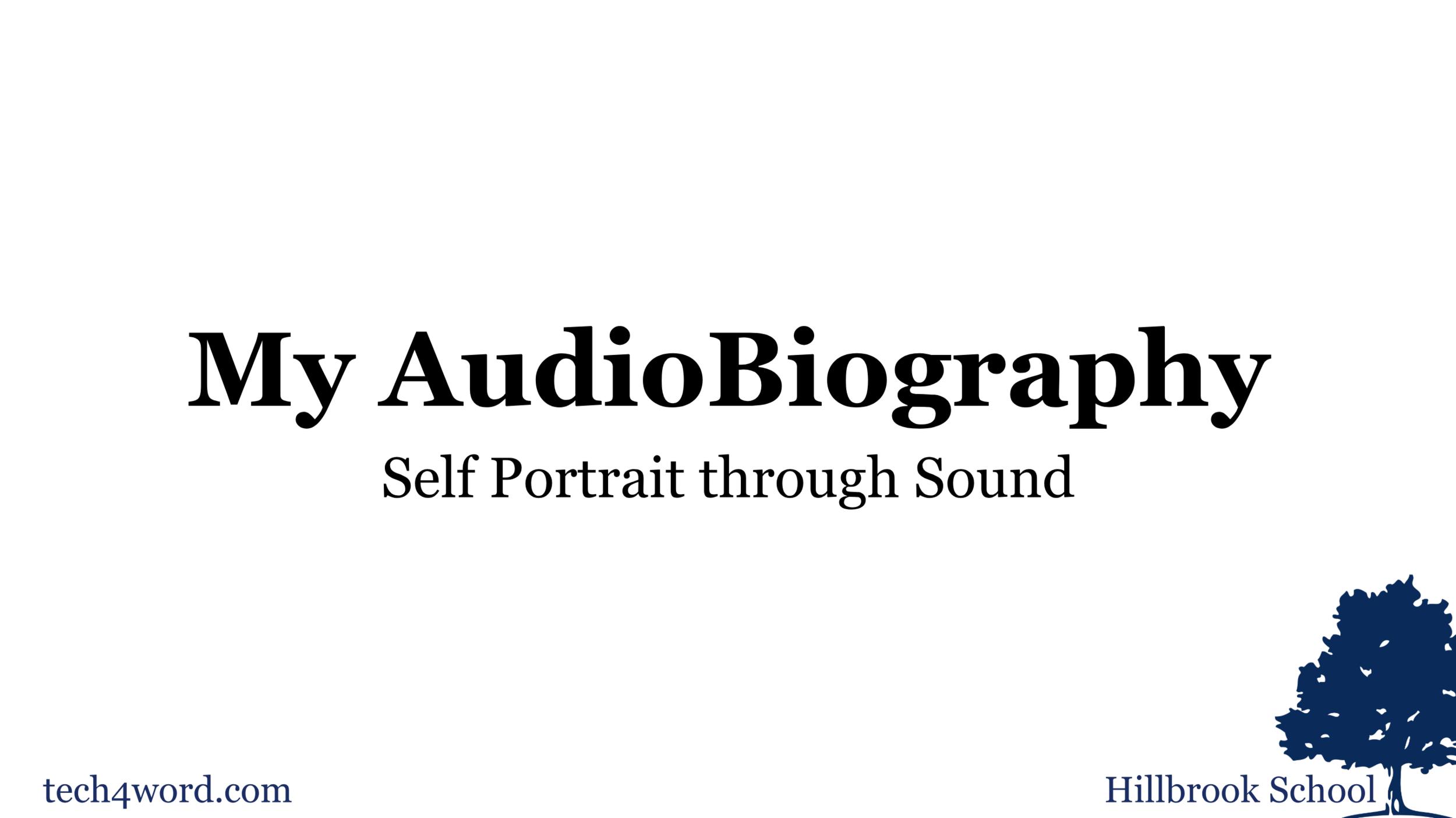 AudioBiography Workshop Slides