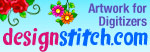 Embroidery design created using artwork by designstitch.com