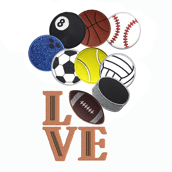 Sports - All the designs you need for your favorite sports fan