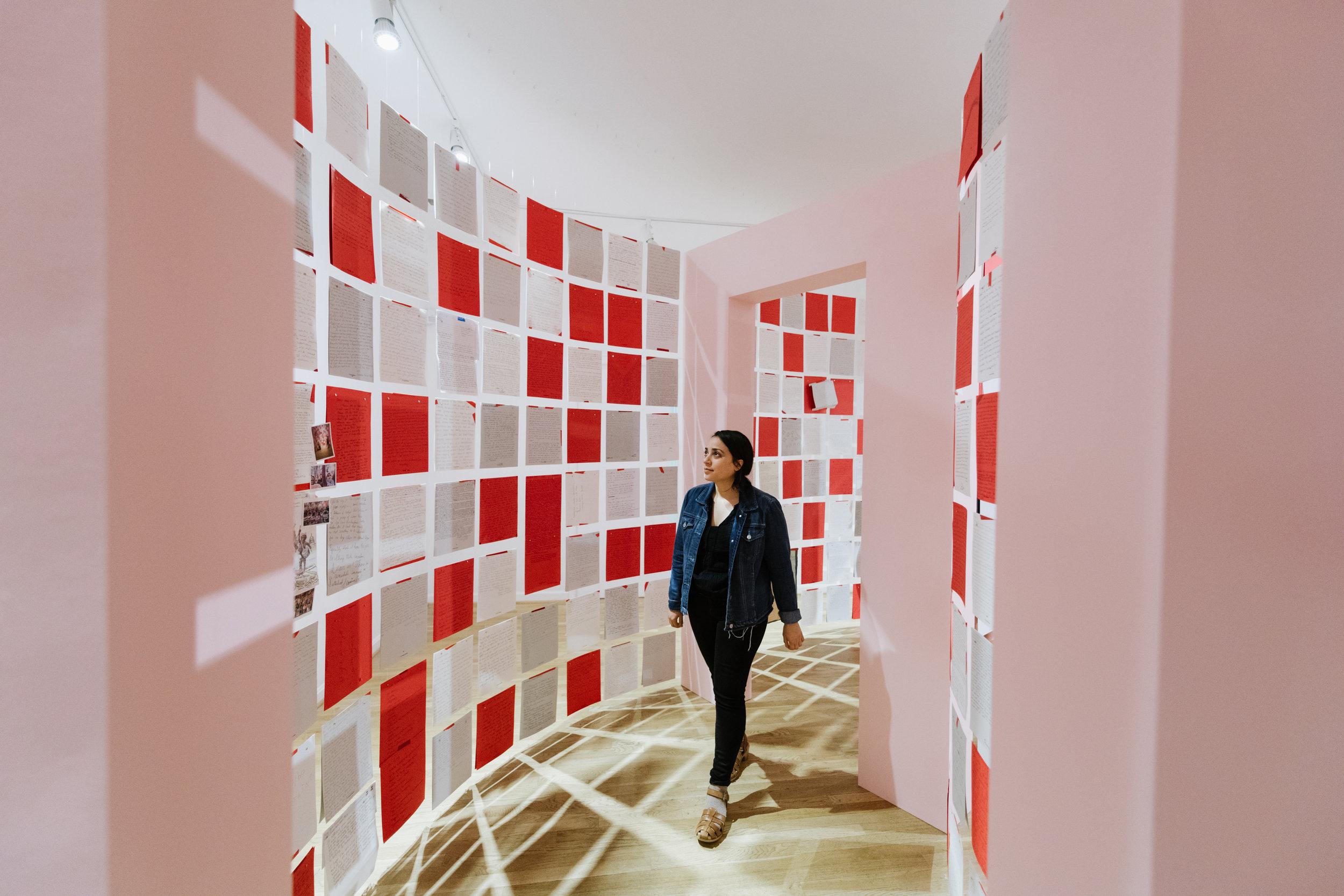 Installation view at Hillyer Art Space, Washington, DC