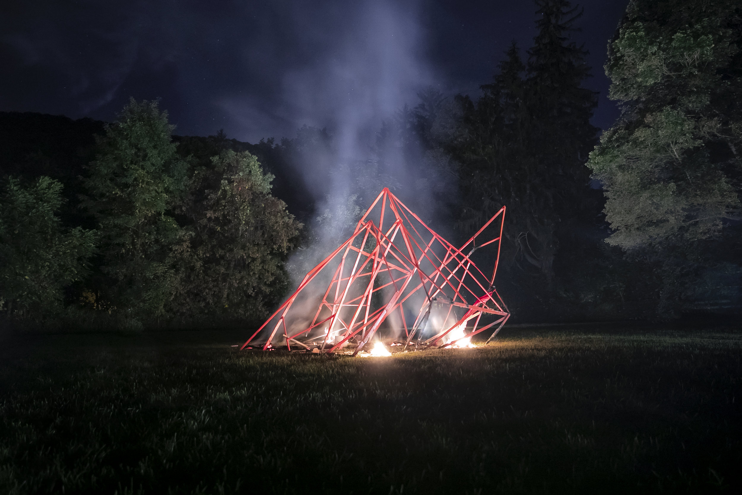 The Architecture of a Witch's Hut_interactive installation_2017_Wassaic, upstate New York_photo Subodh Samudre_3.jpg
