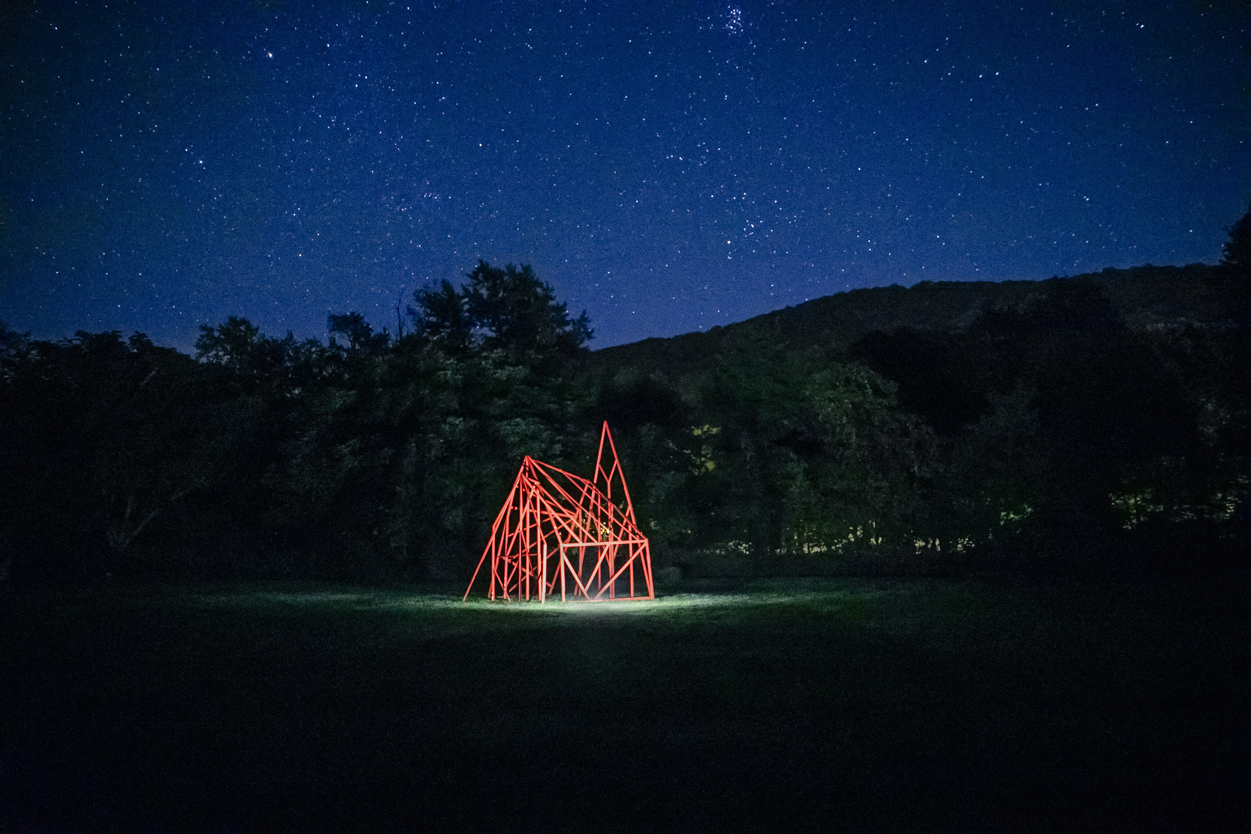 The Architecture of a Witch's Hut_interactive installation_2017_Wassaic, upstate New York_photo Subodh Samudre_1.jpg