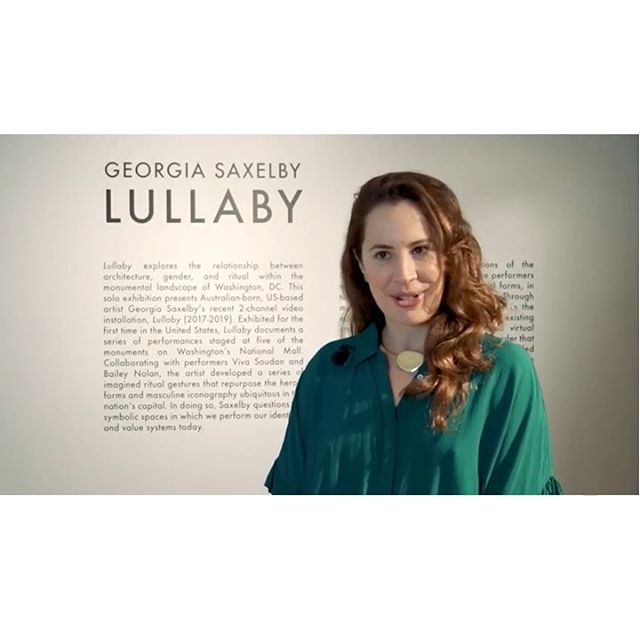 Tomorrow is the big day!!! 🏛 Washington DC friends, come join me for the US-debut of Lullaby at the Australian Embassy tomorrow night from 6-8pm. 🇦🇺 Opening remarks by Melissa Chiu, Director of the Hirshhorn Museum, at 6.45pm! 💃🏻 (Make sure you RSVP and bring your ID to get into the Embassy!!) . @AusintheUS repost: Georgia Saxelby - the Australian artist behind the well-known 'To Future Women' project, presents 'Lullaby', curated by Sandy Guttman of the Hirshhorn Museum and Sculpture Garden. Exhibited for the first time in the United States, at the Embassy of Australia in Washington DC, Lullaby documents a series of performances staged at five of the monuments on Washington's National Mall. Open to the public from July 10 - October 18. More information: https://usa.embassy.gov.au/events #LullabyDC . @pinklineproject @brightestyoungthings @arttable_dc @artnews @hyperallergic @artinamerica @forbeswomen @bbc100women @futurewomen @washingtoncitypaper @washingtonpost @dcist @acreativedc @corcoran_gw