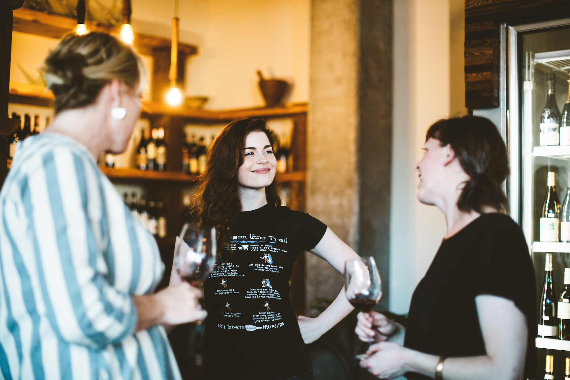 wine tasting with a winemaker