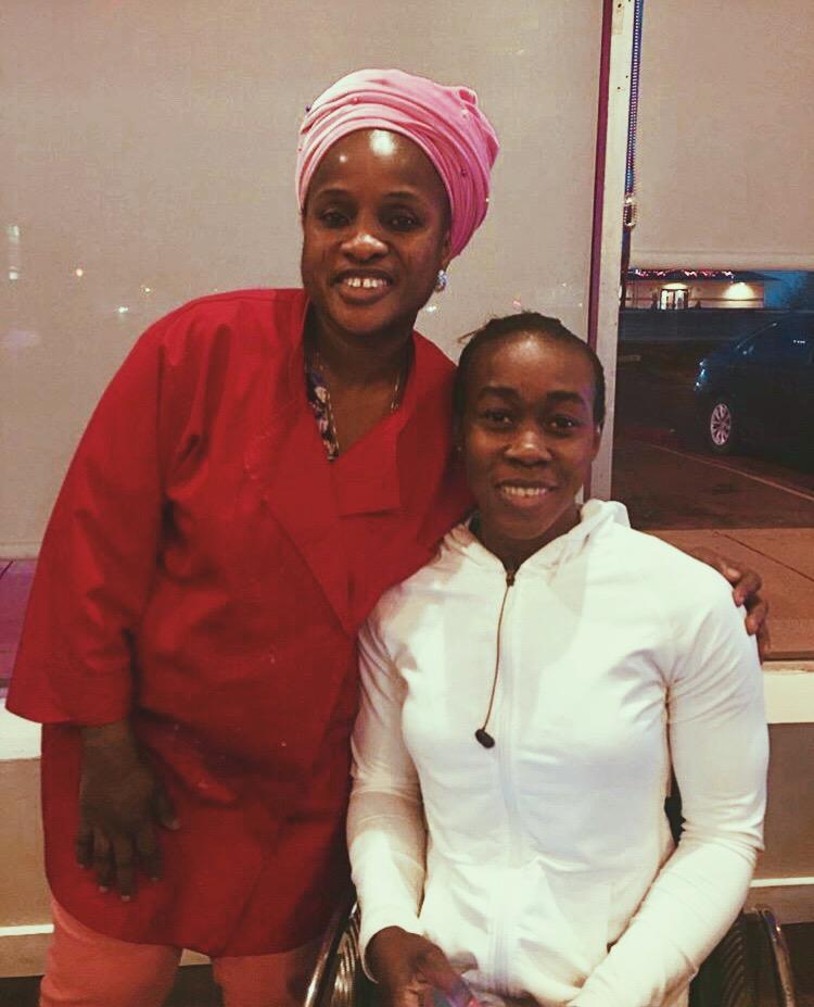 Paralympian Hannah Babalola