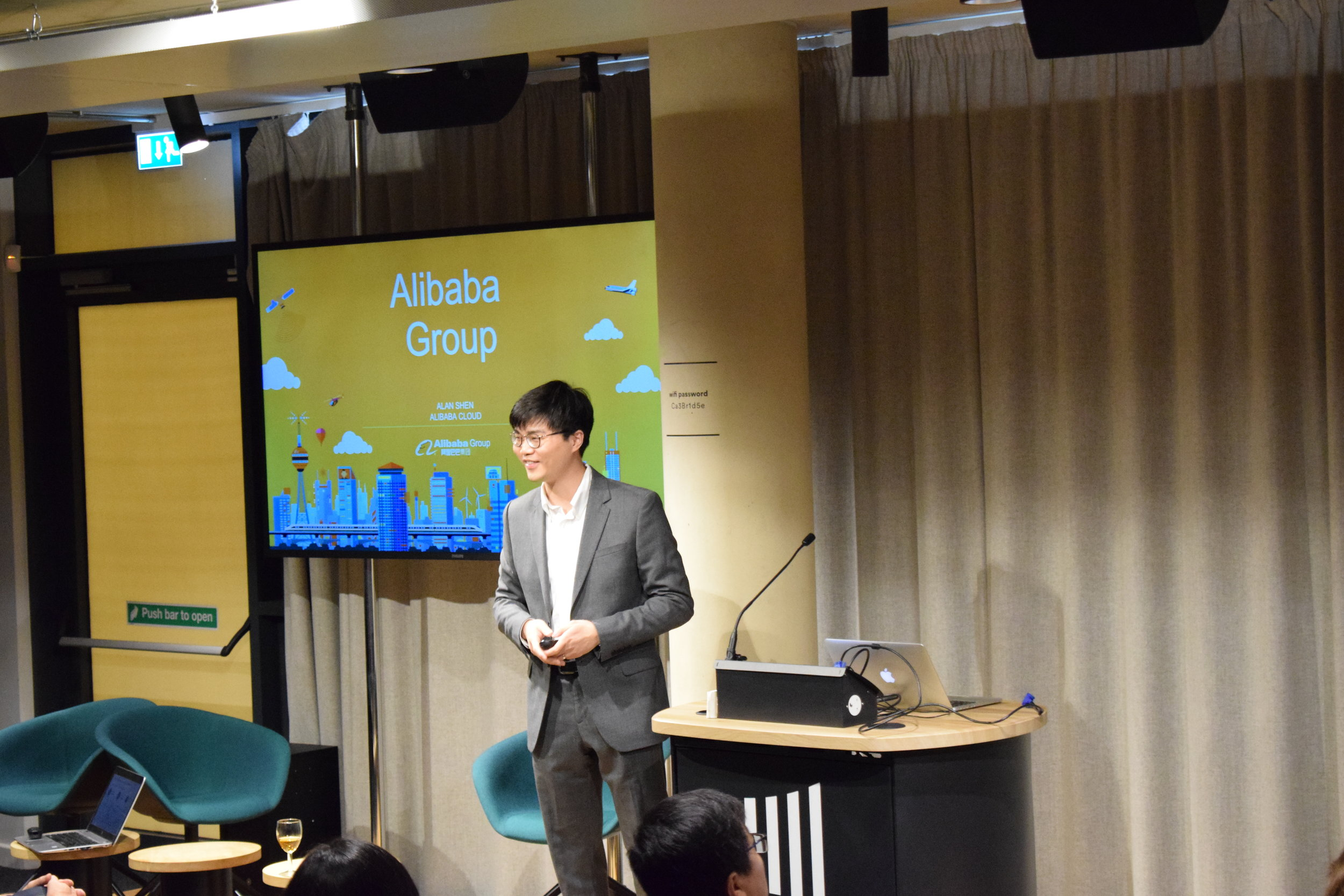 Alan Shen, Cloud Business Development Manager of Alibaba