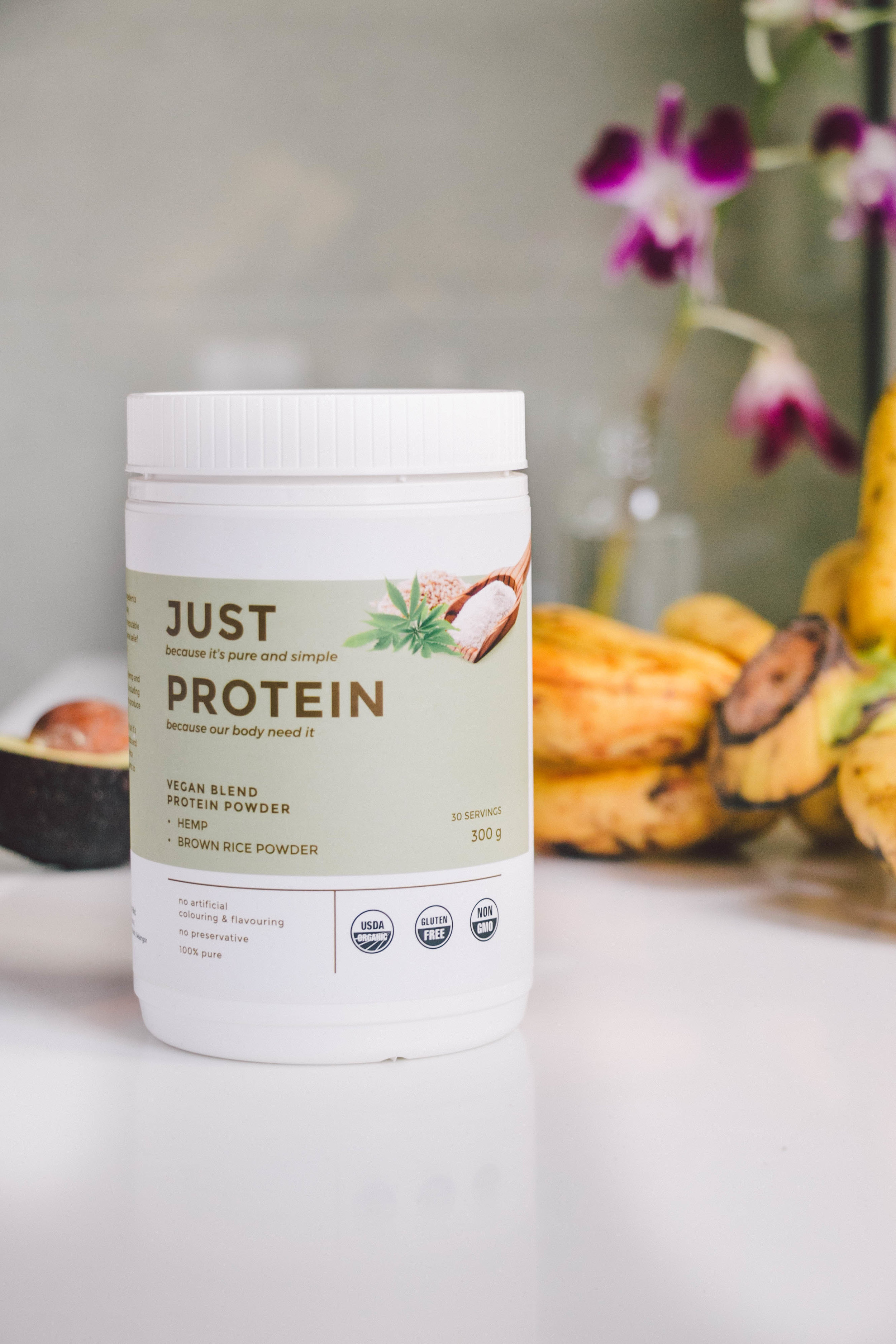 Get 10% off with my promo code: SSAYANG10 - Hemp & brown rice powder, spirulina, superfood powders that can be used as natural colouring—get these or any other powder from REA Superfoods and get a 10% discount with my promo code.