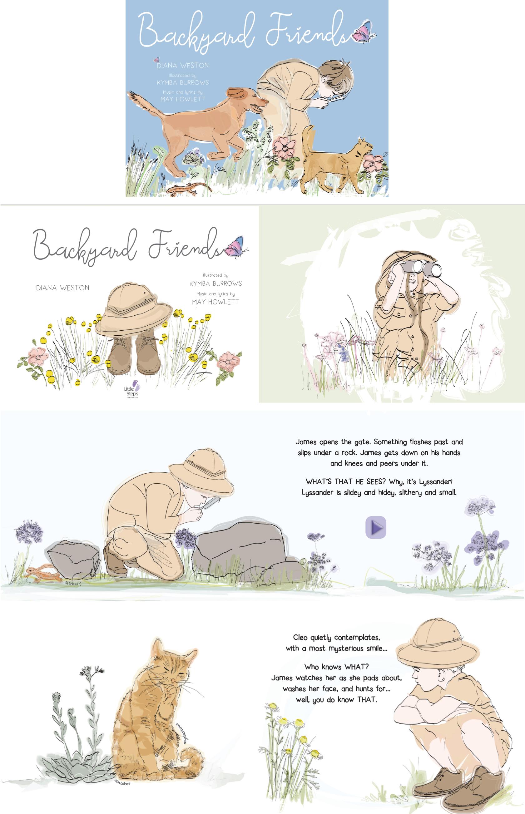 Backyard Friends - A musical storybook