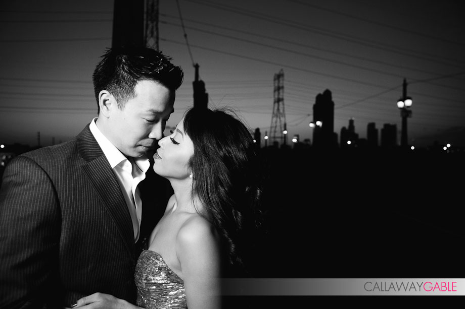 Sex in the City Inpsired Engagement in Downtown Los Angeles