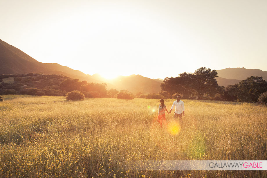 Paramount Ranch Engagement Photography