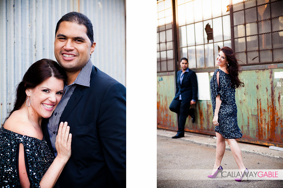 Stephanie and Sam Poueu from NBC's The Biggest Loser Engagement Photos