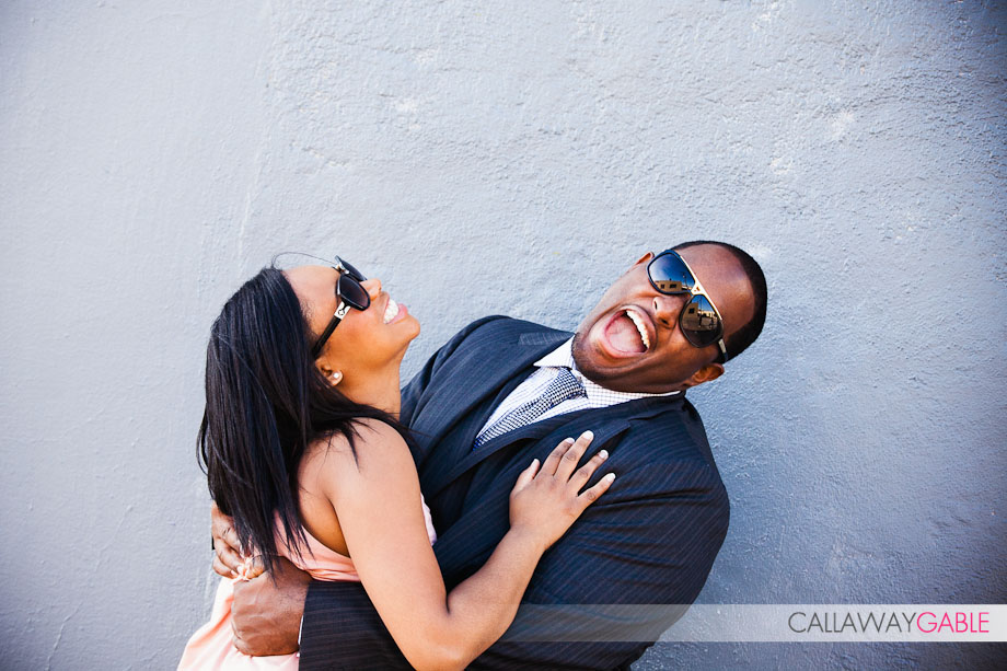 Downtown Los Angeles Engagement