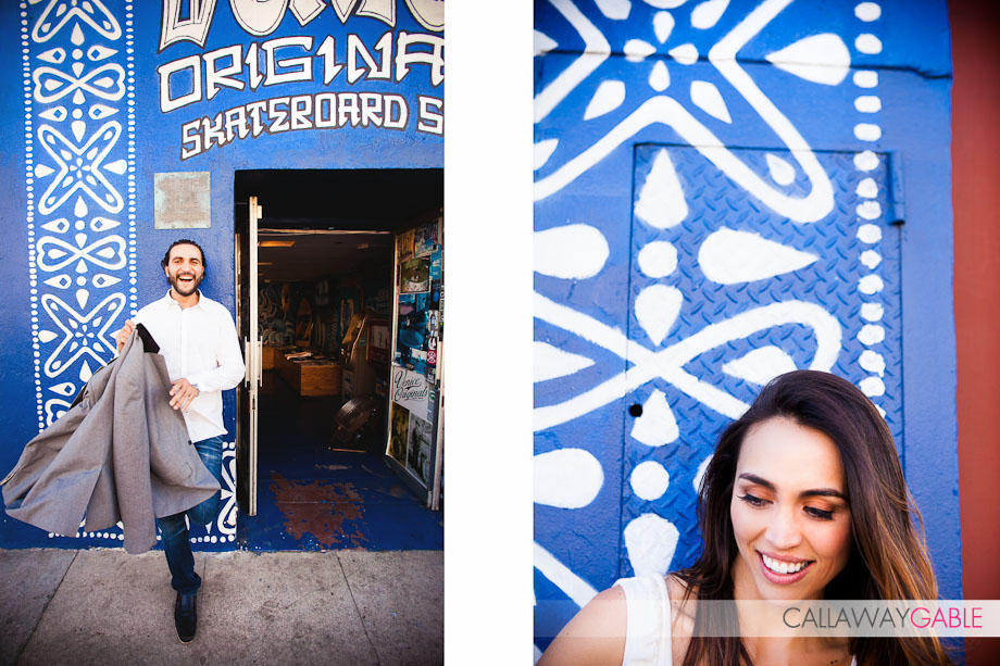 Venice Beach Engagement Photos