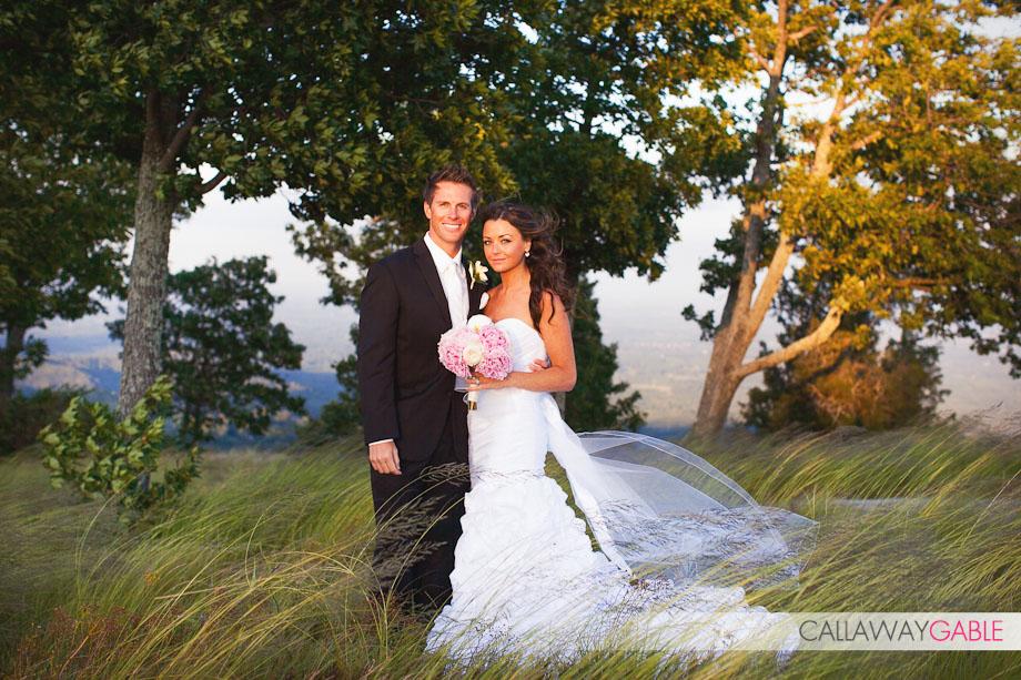 Holly Durst and Blake Julian Wedding at Glassy Chapel in South Carolina
