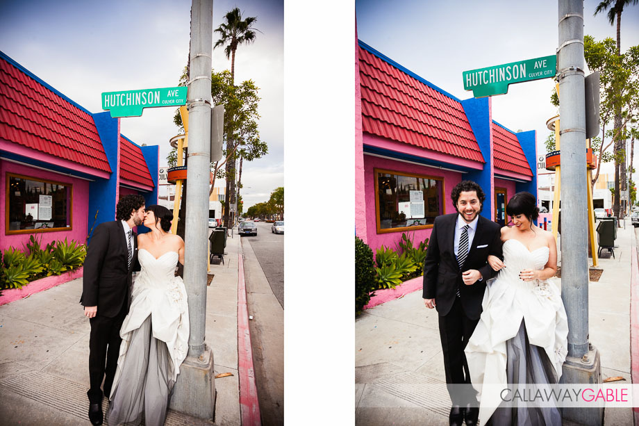 Super Stylish SmogShoppe Wedding by Callaway Gable